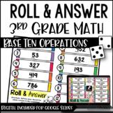 Math Centers for 3rd Grade | 3rd Grade Base Ten Math Centers