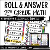 Math Centers for 3rd Grade | 3rd Grade Algebraic Thinking Math Centers
