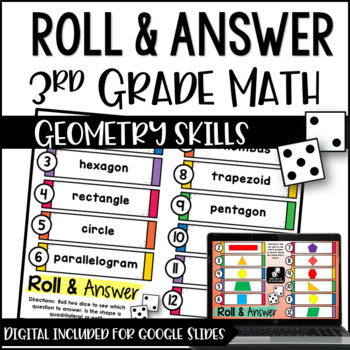 Math Centers for 3rd Grade | 3rd Grade Geometry Math Centers