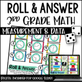 Math Centers for 3rd Grade | 3rd Grade Measurement and Dat