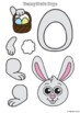 Roll and Build – Easter Bunny