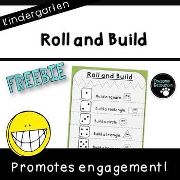 Roll and Build (***Kindergarten FREEBIE***)