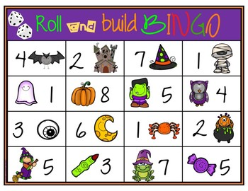 Roll and Build - HALLOWEEN FREEBIE