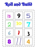 Roll and Build Numbers 1-12