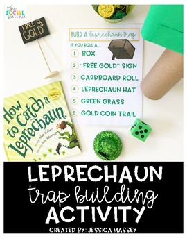 Roll and Build a Leprechaun Trap - St. Patrick's Day for Speech Therapy