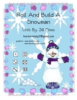 Roll and Build a Snowman