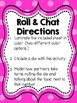 FREEBIE! Roll and Chat: Reading Comprehension Dice Game
