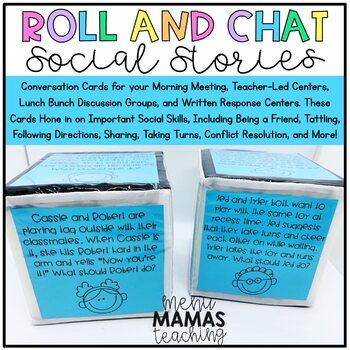 Distance Learning: Roll and Chat Social Stories
