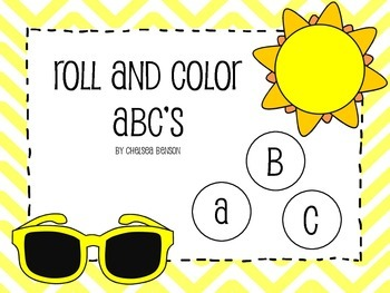 Roll and Color A-Z