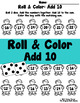 Roll, Add & Color Addition Fact BUNDLE