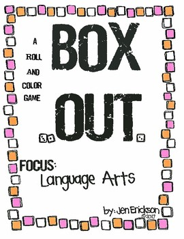 Roll and Color:  BOX OUT! (Language Arts)
