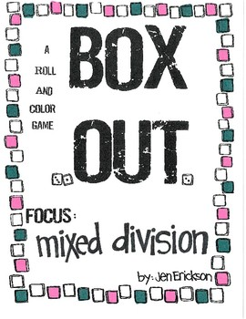 Roll and Color BOX OUT:  Mixed Division
