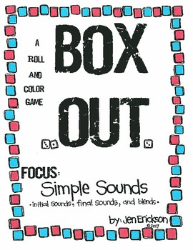 Roll and Color:  BOX OUT! (Simple Sounds)