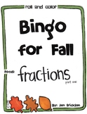 Roll and Color Bingo for Fall: Fractions