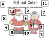 Roll and Color Christmas