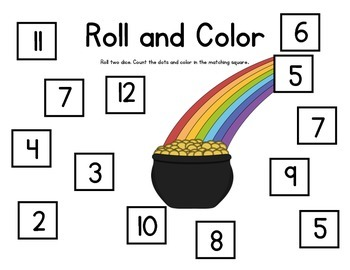 Roll and Color - Dice Game