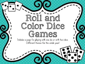 Roll and Color Dice Games