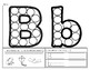 Bingo Dobber Letter Formation & Letter Sounds  A-Z (Dab, Trace, and Identify)