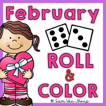 Roll and Color: February