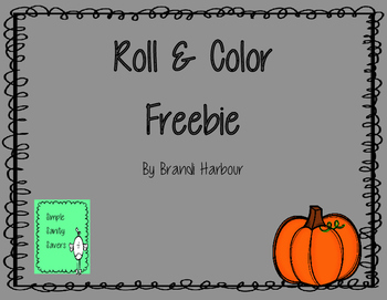 Roll and Color Freebie