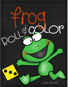 Leap Year:  Roll and Color:  Frog Theme