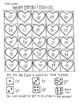 Roll and Color:  Heart Bingo!  (Letters and Sounds)