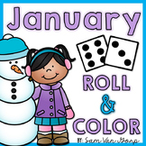 Roll and Color: January