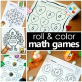 Roll and Color Math Games