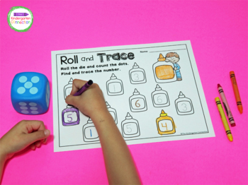 Roll and Color Math Games for the Year