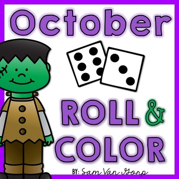 Roll and Color: October