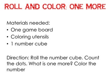 Roll and Color: One More
