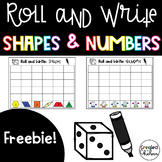 Roll and Color (Pattern Block Shapes)