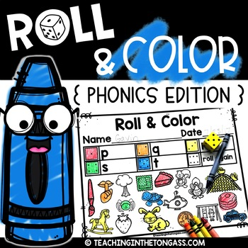 Roll and Color Phonics