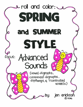 Roll and Color SPRING AND SUMMER STYLE:  Advanced Sounds