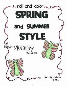 Roll and Color SPRING AND SUMMER STYLE: Multiply