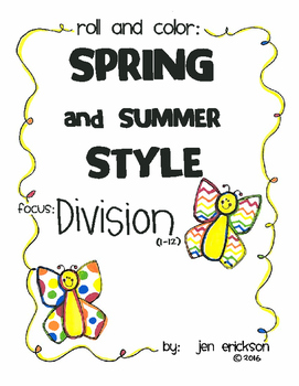Roll and Color SPRING and SUMMER STYLE:  Division
