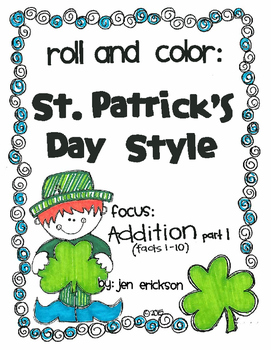 Roll and Color ST. PATRICK'S DAY STYLE:  Addition (part 1)