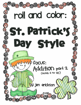 Roll and Color ST. PATRICK'S DAY STYLE:  Addition (part 2)