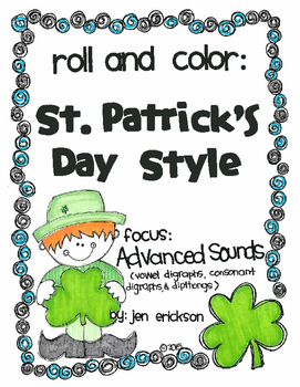 Roll and Color ST. PATRICK'S DAY STYLE:  Advanced Sounds