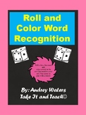 Roll and Color Sight Word Recognition