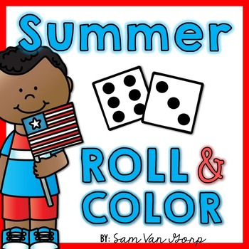 Roll and Color: Summer
