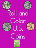 Roll and Color U.S. Coins