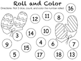 Roll and Color-Winter Mittens