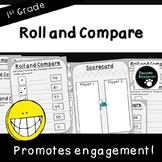 Roll and Compare-Place Value Activity (First Grade, 1.NBT.3)
