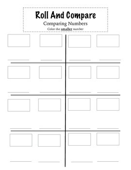 Roll and Compare (smaller number)