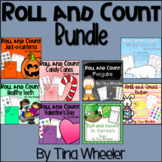 Roll and Count Bundle ~ Math Games ~ Math Centers