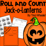 Roll and Count Jack-o-Lanterns ~ Math Games ~ Math Centers
