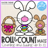 Roll and Count Mats ● Easter Theme ● Number Sense Counting Activity
