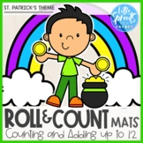 Roll and Count Mats ● St. Patrick's Theme ● Number Sense C