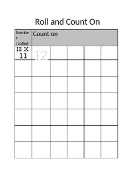 Roll and Count On
